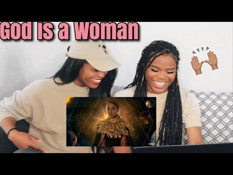 """twins react to Ariana Grande- """"God is a woman"""" music video"""
