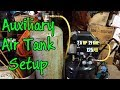 Air Compressor Auxiliary Tank Setup, First Air Compressor Advice