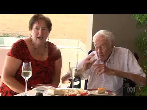 Dr. David Goodall celebrates his 104th birthday