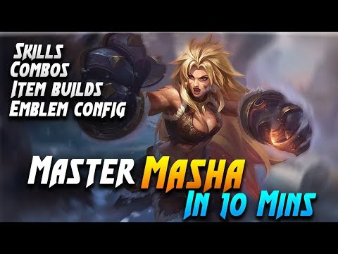 Master Masha in 10 Minutes | Mobile Legends Bang Bang