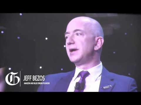 Jeff Bezos on growing the $$$ of space business