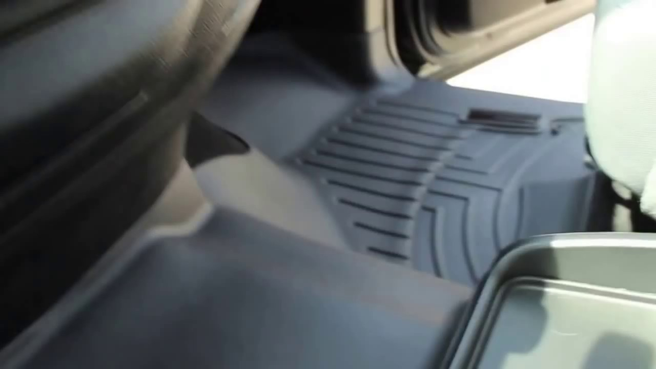 weathertech floor mat review 2014 ram 1500 crew cab - youtube