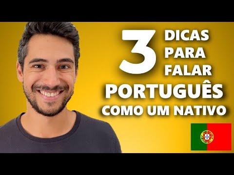 Download 3 Dicas para Falar Português como um Nativo // Lição rápida de português