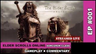 The Elder Scrolls Online: Tamriel Unlimited - Morrowind - (Sorcerer Class) GamePlay