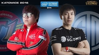 League of Legends - SKT  vs. TSM - IEM Katowice 2016 - Semifinal Map 2