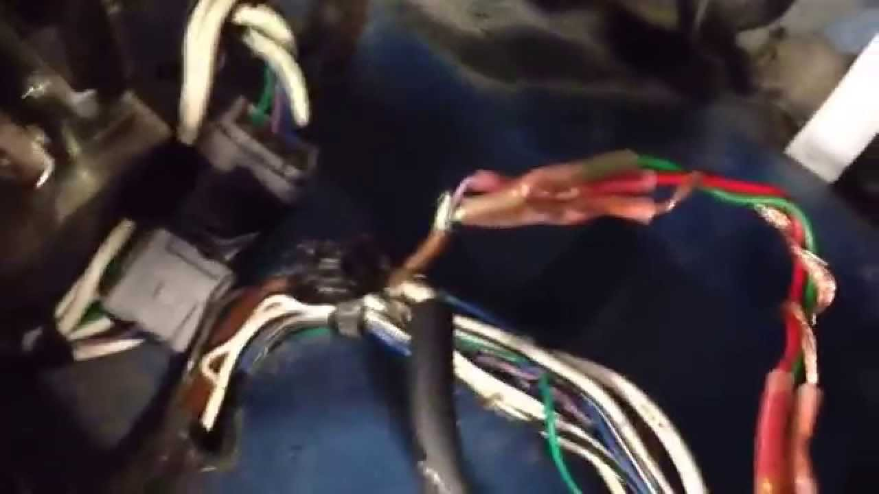 Rodent damaged wiring repair