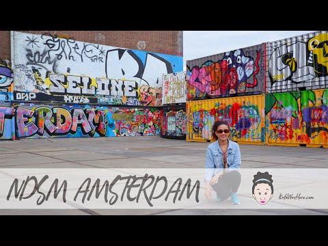 NDSM: Amsterdam's Shipyard-Turned-Creative Space