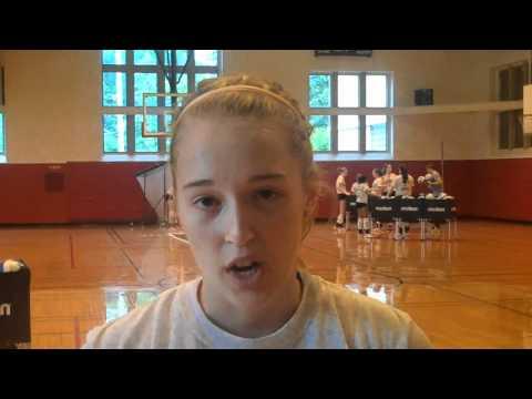 Washington University Volleyball Practice #2