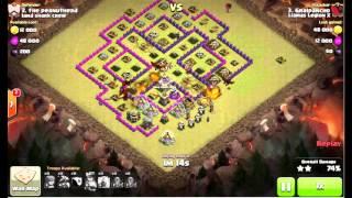 Clash of Clans | Epic War | Llamas Legion X Vs. Land Shark Crew | Highlights