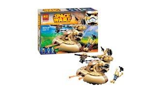 BELA SPACE WARS 10371 AAT Assault Tank LEGO 75080 SPEED BUILD