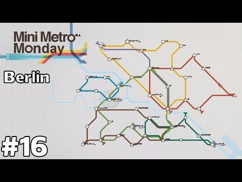 Berlin, Germany [Round 2] - Mini Metro Monday [ep16]