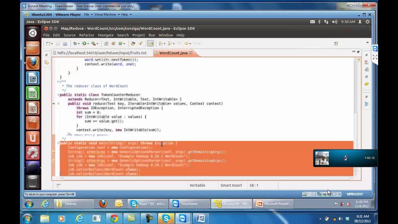 Hadoop tutorial intro to wordcount youtube hadoop tutorial intro to wordcount baditri Image collections