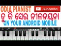 Download TU KI SEI NILA NAYANA EASY PIANO TUTORIAL BY ODIA PIANIST MP3 song and Music Video