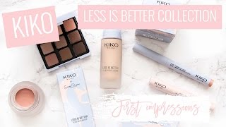 Kiko first impressions | Less is better |  Style playground