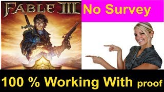 How To Download And Install Fable 3 For PC Game Free [ Windows 7/810/XP] 2017