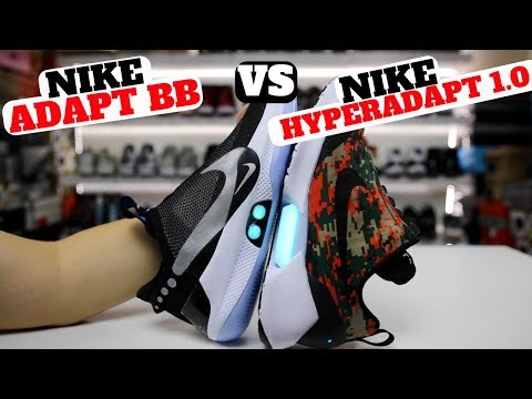 download SELF LACING SNEAKERS: Nike ADAPT BB vs HYPERADAPT 1.0 (Which Is Better?)