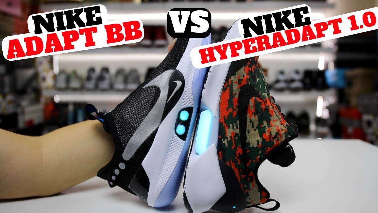 5b950c1832c50d SELF LACING SNEAKERS  Nike ADAPT BB vs HYPERADAPT 1.0 (Which Is Better )