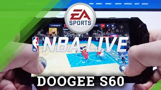 NBA Mobile on DOOGEE S60 – Gaming Quality Test