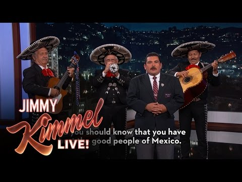 Guillermo's Message to Donald Trump