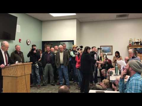 Sen. Chuck Grassley Town Hall Meeting in Iowa Falls