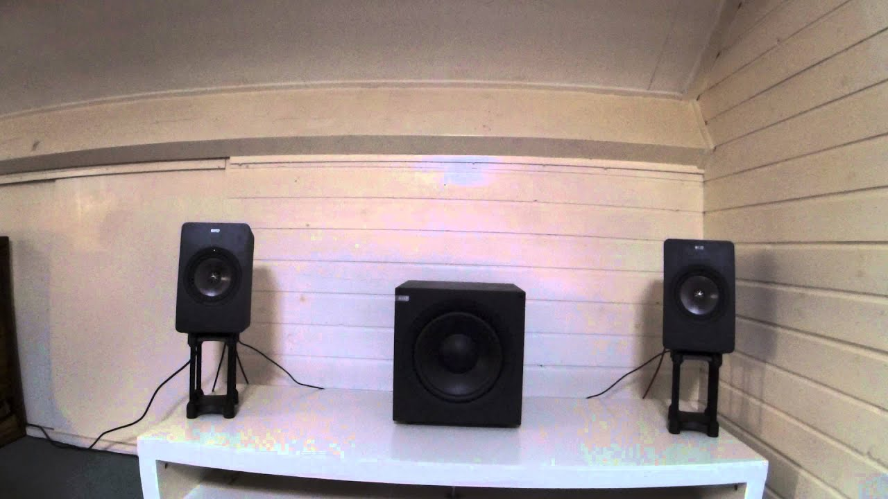 kef egg subwoofer. kef x300a with q400b subwoofer: neneh cherry - across the water youtube kef egg subwoofer k