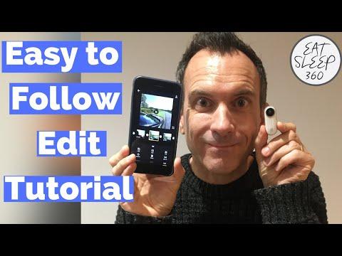Insta360 Go editing app tutorial thumbnail