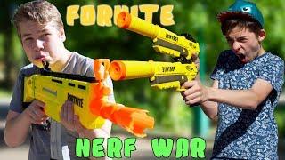 БАТЛ РОЯЛЬ В РЕАЛЬНОЙ ЖИЗНИ // NERF war FORTNITE // Dizmon