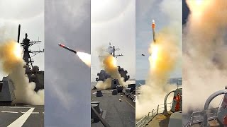 Tomahawk Cruise Missile Test Fire Launch