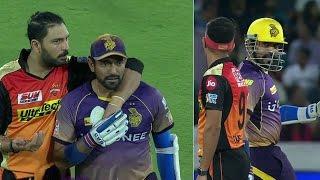 IPL 2017: जब IPL-10 मैच में उथप्पा ने जानबूझकर बॉलर को मारा कंधा, भड़क गए युवराज