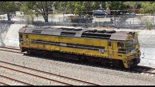 Australia: Trains @ North Strathfield, 10Feb18