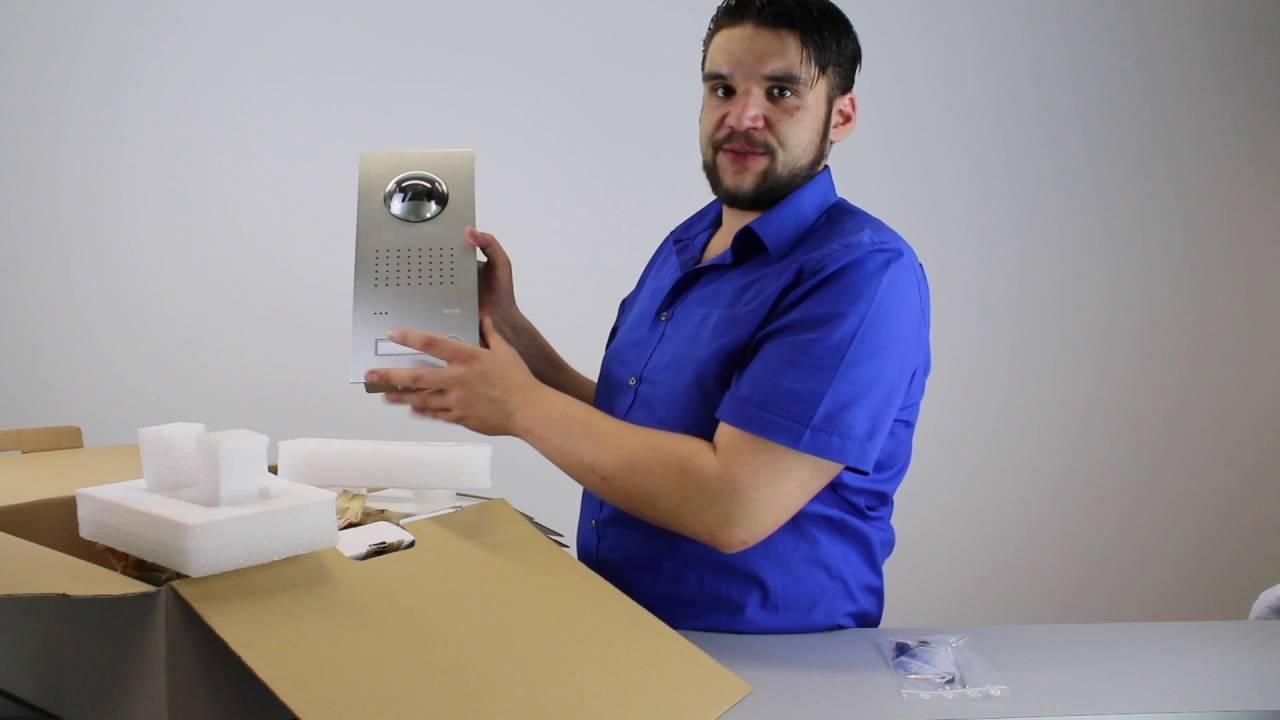 ritto | freisprechanlage mit kamera (unboxing) | test - youtube