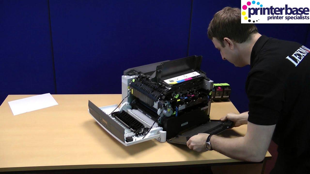 lexmark cs310dn a4 colour laser printer review youtube rh youtube com