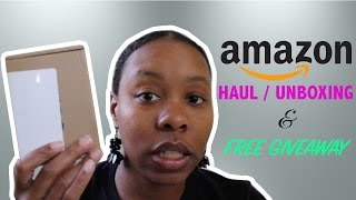 May 2017 Amazon Haul - Mini Unboxing & Free Giveaway!