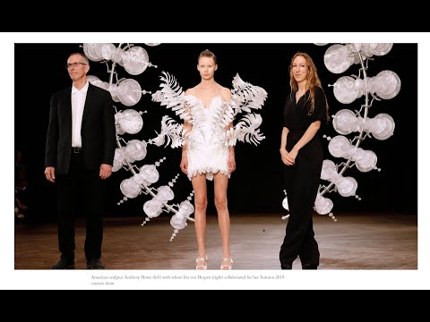 Iris Van Herpen Collaborates With Anthony Howe.....Processes