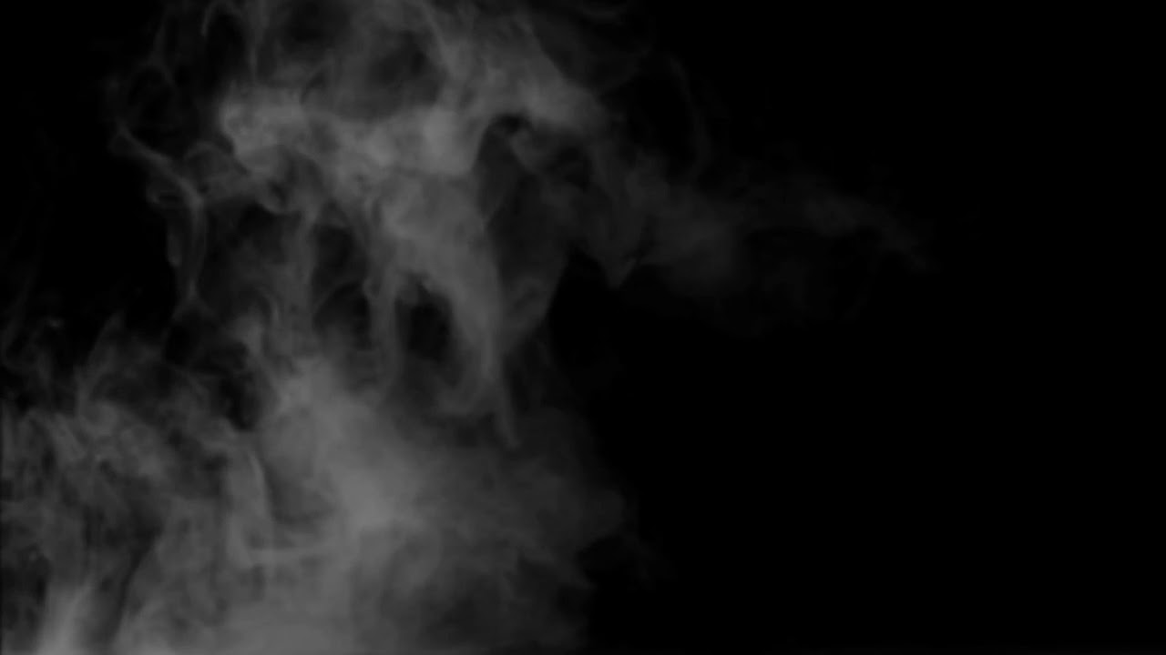 Smoke on black background 13 HD Humo sobre fondo negro 13 ...