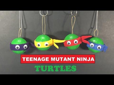 Teenage Mutant Ninja Turtle Necklace , Key Chain or Decor DIY  #04
