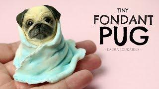 Tiny Fondant Pug Timelapse - Laura Loukaides
