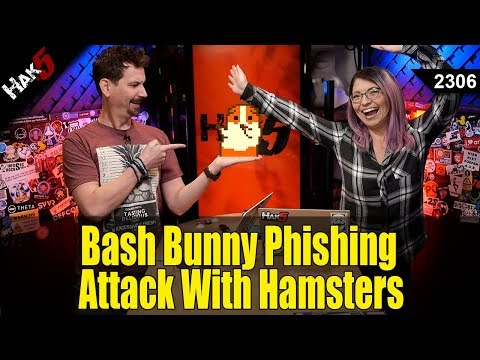 Bash Bunny Phishing Attack With Hamsters - Hak5 2306