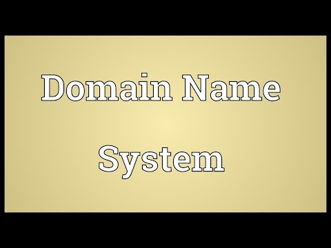 Domain Name System Meaning