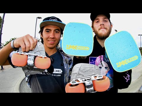 JMK FREE SKATES AT THE SKATEPARK!?!
