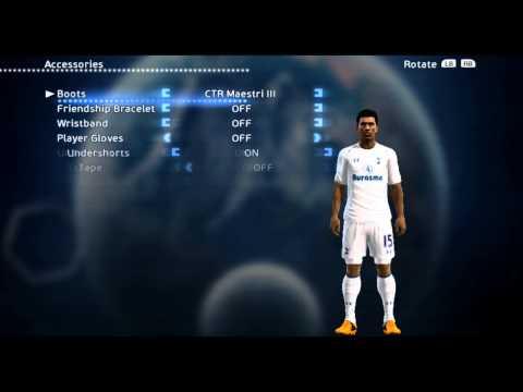Paulinho. signing for ▷ Tottenham Hotspur F.C.13-14 • New Face & Hair • PES 2013