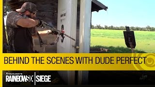 Tom Clancy's Rainbow Six Siege – Dude Perfect Behind The Scenes [US]