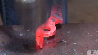 World Championship Blacksmiths Craig Trnka, CJF -  Hot fitting tongs