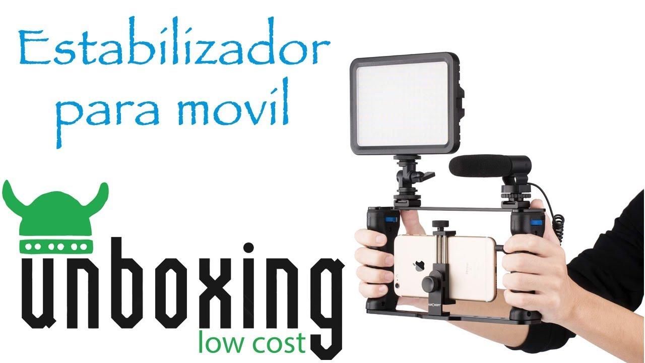 Soporte Estabilizador Para Móvil Como Grabar Con Tu Móvil U R Low Cost Youtube