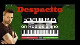 Despacito on Roblox piano