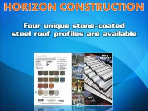 Metro stone-coated steel roof systems - Horizon Construction - Denver Colorado