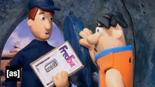 The Flintstones Receive Some Post | Robot Chicken | Adult Swim