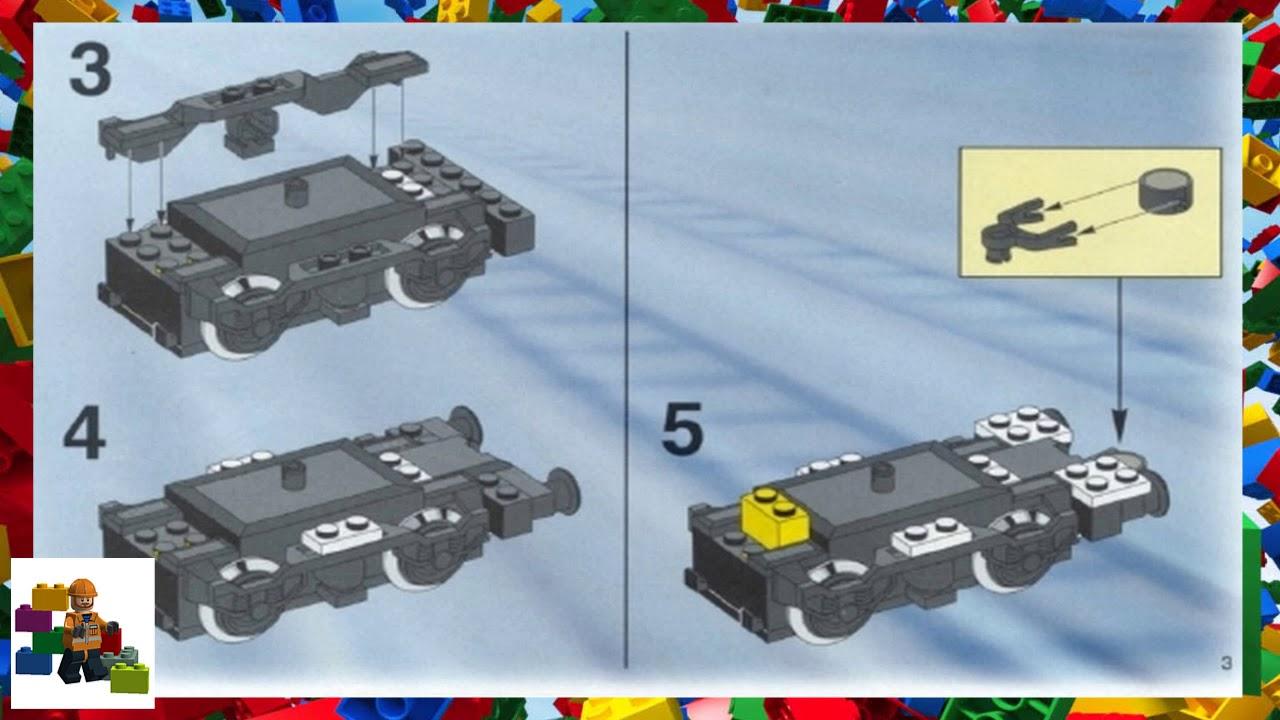 Lego Instructions Trains 4561 Railway Express Youtube