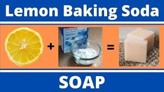 Lemon Baking Soda Soap   Body Oder Remover
