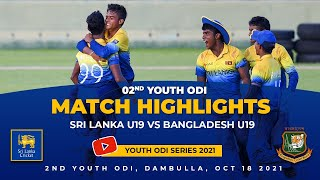 2nd-youth-odi-highlights-sri-lanka-vs-bangladesh-under-19